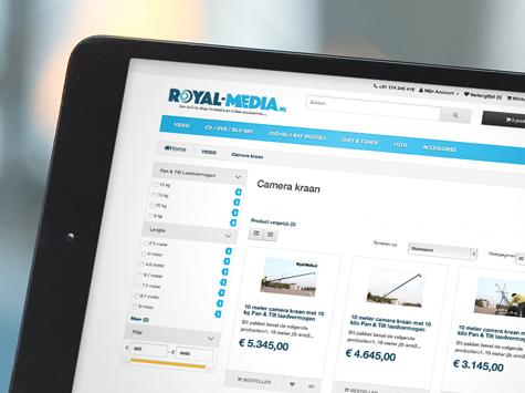 Webwinkel ontwikkeling Royal-Media