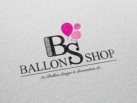 Ballonshop logo ontwerp