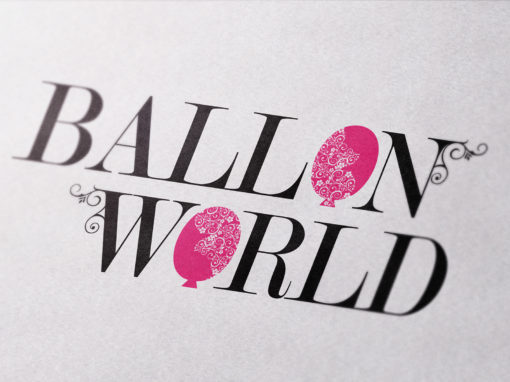 Ballon World – Logo ontwerp